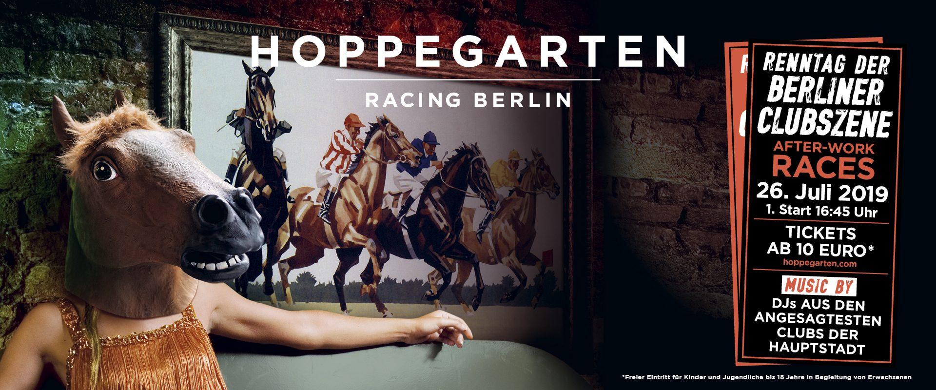 Pferderennbahn Hoppegarten